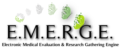 E.M.E.R.G.E. | Electronic Medical Evaluation & Research Gathering Engine